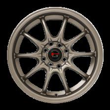 【9折套装】丰途/华固HG2161 16寸 低压铸造轮毂 孔距4X100/4X114.3 ET40消光古铜
