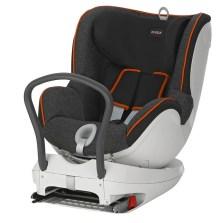 宝得适/Britax 双面骑士Dualfix 儿童安全座椅 isofix  0-4周岁(曜石黑)  送价值1100元福袋礼包