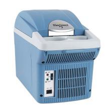 婷微 车载冰箱 CB-08B车家两用小冰箱 迷你家用双制冷冰箱【6L标准版 蓝色】