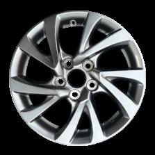 【6折尾货 套装】丰途严选/HG0549 16寸 丰田卡罗拉原厂款轮毂 孔距5X114.3 ET44银色涂装