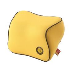 GIGI G-1107  太空记忆棉汽车头枕 车用头枕 护颈枕【黄色】