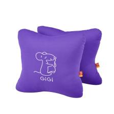 GIGI  G-1069 四季车饰车用办公用 可爱抱枕 腰靠垫【紫色】