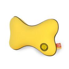 GiGi 汽车头枕 记忆棉头枕颈枕 车用护颈枕靠枕【鲜橙黄】