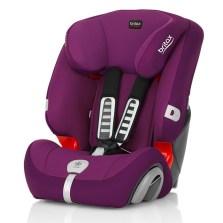 宝得适/Britax 超级百变王白金版 儿童安全座椅 9个月-12岁(闪耀紫)
