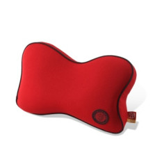 GiGi 车用记忆棉护颈枕 头枕靠垫【红色】