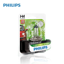 飞利浦/PHILIPS 恒劲光 LLECO 3100K H4 12V 60/55W 长寿型卤素12342LLECO【单只】