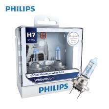 飞利浦/PHILIPS 璀璨之光White Vision 4300K H7 12V 55W 升级型卤素灯 12972WHV【双只】