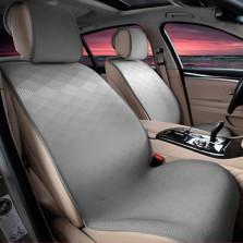 Mubo牧宝 MSJ 1607系列 舒适透气炫彩时尚四季空调垫五座通用汽车坐垫【灰色】