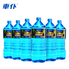 车仆/chief 玻璃水 玻璃清洗雨刮水 6瓶实惠装(6瓶*2L)