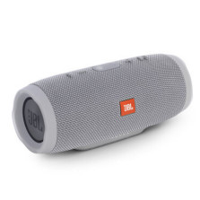 JBL Charge3 音乐冲击波3 蓝牙小音箱音响 低音炮 移动充电 防水设计 支持多台串联 便携迷你音响【格调灰】