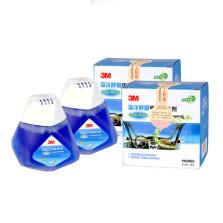3M 甲醛净化剂 除甲醛除异味空气清新剂 海洋小蓝瓶2瓶装【2瓶x80g】PN38002