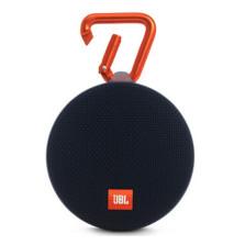 JBL Clip2 音乐盒2 蓝牙便携音箱音响 户外迷你小音响音箱 防水设计 高保真无噪声通话【黑】