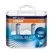 欧司朗/OSRAM 酷蓝二代 H7 12V 55W 升级型卤素灯 4200K 64210CBI【双只】暖白光