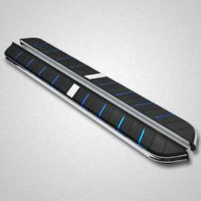 SUVMCH 酷睿款 福特翼虎【2016款及之前车型适用】 侧脚踏板 改装迎宾踏板【蓝色】