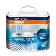 欧司朗/OSRAM 酷蓝二代 HB4 12V 51W 升级型卤素灯 4200K 9006CBI【双只】暖白光