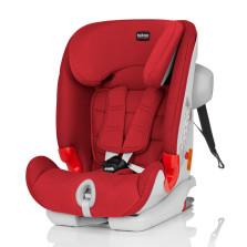 宝得适/Britax 百变骑士 II SICT 二代汽车儿童安全座椅 isofix 9月-12岁(热情红)