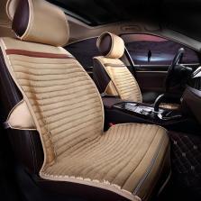 Mubo牧宝 MYR-W1501 冬季羽绒座垫五座通用汽车座垫【米色】