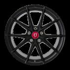【四只套装】丰途/FR553 19寸 旋压铸造轮毂 孔距5X120 ET38亚黑涂装_