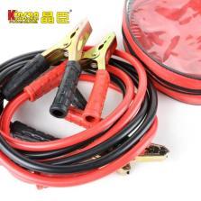 晶臣 KC0101车用电瓶2.5M联接线 汽车电瓶线 搭火线夹子 纯铜连接线