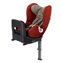 德国 cybex/赛百适 汽车儿童安全座椅sirona plus 0-4岁 360度旋转 秋叶金