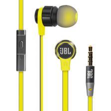 JBL T180A 立体声低音入耳式线控带麦电脑安卓苹果手机通用耳机【灰色】