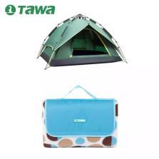 TAWA 3-4人全自动帐篷+防潮垫【套餐2-基础款】