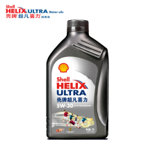【正品授权】壳牌/Shell 超凡喜力 全合成机油 新中超限量版 ULTRA 5W-30 SN 灰壳(1L装)