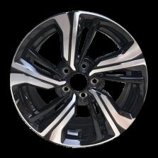 丰途严选/HG0537 17寸 思域原厂款轮毂 孔距5X114.3 ET45黑色车亮