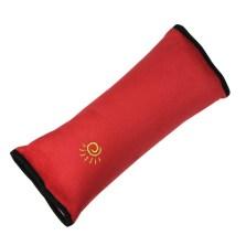 安美时  儿童汽车安全带套 可爱卡通 毛绒护肩套 护肩枕 汽车用品睡觉 随机发送