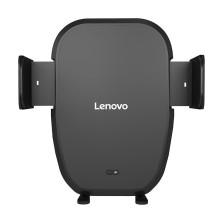 联想Lenovo 车载手机支架无线充电器 红外感应自动 苹果iPhoneXS MAX/XS/X/8/三星S8/华为Mate20 Qi无线快充