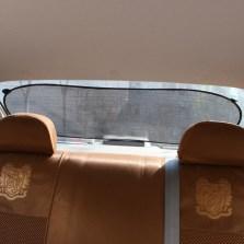车洁邦/CheJieBang 车用黑色网纱太阳后档遮阳挡 100*50cm