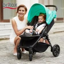 宝得适/Britax 欢行B-nest 婴儿推车可坐躺可折叠婴儿车轻便童车(静谧蓝)