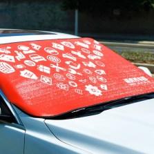 途虎定制 冬夏两用外置车挡 遮阳档遮阳挡一档多用汽车雪档遮阳档 前挡风玻璃车罩
