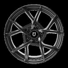 【买3送1 套装】丰途/FT515 18寸 低压铸造轮毂 孔距5X114.3 ET43亮铁灰全涂装 免费安装+送铝合金气门嘴+送螺栓/螺母+免费动平衡+专业改装