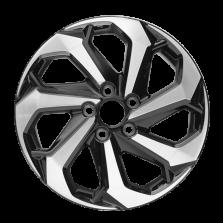 【四只套装】丰途严选/HG7142 17寸 雅阁9代原厂款轮毂 孔距5X114.3 ET55黑色车亮