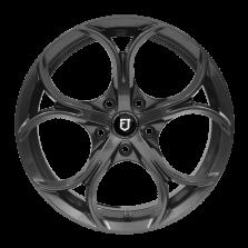 【买3送1 套装】丰途/FT511 17寸 低压铸造轮毂 孔距5X114.3 ET40枪灰涂装