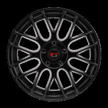 【四只套装】丰途/华固HG2862 15寸 低压铸造轮毂 孔距5X100 ET38亚黑涂装