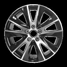 丰途严选/HG0220 17寸 大众途观原厂款轮毂 孔距5X112 ET43黑色车亮