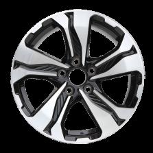 【四只套装】丰途严选/HG5044 17寸 本田CRV原厂款轮毂 孔距5X114.3 ET45黑色车亮