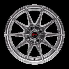 【四只套装】丰途/华固HG2162 15寸 低压铸造轮毂 孔距4X100 ET38电镀银