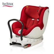 宝得适/Britax 双面骑士Dualfix 儿童安全座椅 isofix  0-4周岁(热情红)