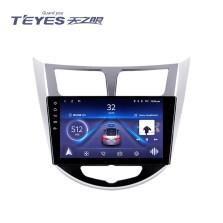 天之眼 现代索纳塔/朗动/伊兰特/领动/途胜/瑞奕/ix25/名图/全新胜达ix45/ix35 高通骁龙4核 ADAS行车辅助 GPS大屏智能车机导航一体机  wifi版+2.5D屏