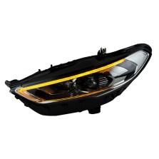 【免费安装】时宇17款蒙迪欧全LED大灯总成改装LED透镜日行灯 LED流光转向 带全LED光源【一对】