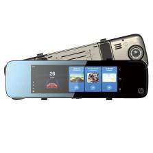 惠普/HP S760 智能YunOS 3G版后视镜行车记录仪 双镜头高清夜视倒车影像 标配