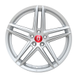 【4折特价 套装】丰途/FR552 19寸 旋压铸造轮毂 孔距5X112 ET33银色涂装