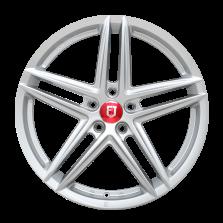 【四只套装】丰途/FR552 19寸 旋压铸造轮毂 孔距5X120 ET35银色涂装