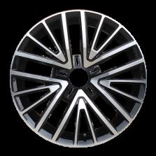 丰途严选/HG1356 17寸 凌渡原厂款轮毂 孔距5X112 ET50黑色车亮