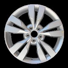 【四只套装】丰途严选/HG0457 17寸 艾瑞泽5原厂款轮毂 孔距5X108 ET45银色涂装