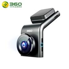 【限时包安装】360行车记录仪 G300高清夜视新款隐藏式迷你语音播报无线测速电子狗一体 标配