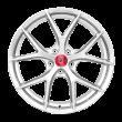 【套装特价】丰途/FR551 19寸 旋压铸造轮毂 孔距5X120 ET33高亮银全涂装